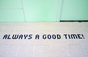 Quote: Always a good time. Setting Goals